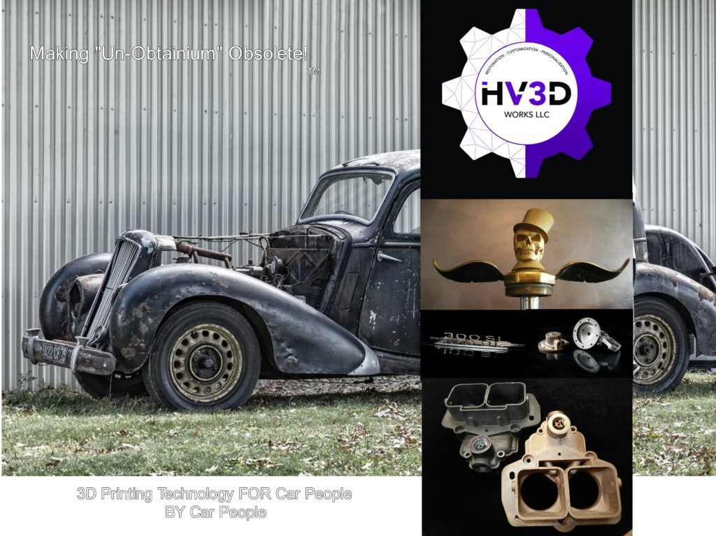 HV3DWorks LLC | Making \'Un-Obtainium\' Obsolete – 3D Printed Parts ...